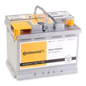 Continental Starter 2800012021280 Starterbatterie Polanordnung: 0