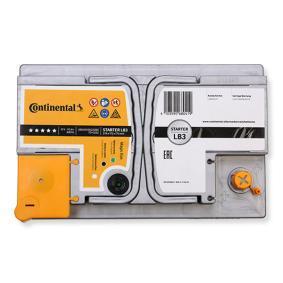 Continental Starterbatterie B13 , 70 Ah , 12 V , LB3 , 680 A , Bleiakkumulator