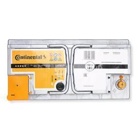 Continental Starter 2800012025280 Starterbatterie Polanordnung: 0