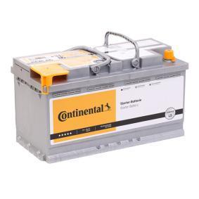 Starterbatterie Polanordnung: 0 mit OEM-Nummer 000915105AK