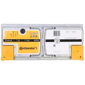 Starterbatterie Polanordnung: 0 mit OEM-Nummer 61 21 6 901 817