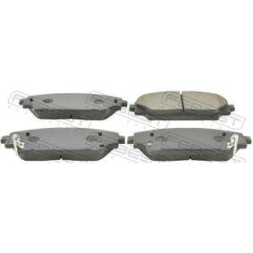 Brake Pad Set, disc brake with OEM Number B4Y0-3328ZA