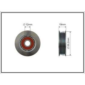 Τεντωτήρας, ιμάντας poly-V 500506 MICRA 2 (K11) 1.3 i 16V Έτος 1996