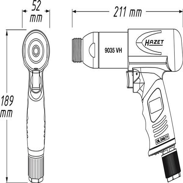HAZET  9035VH Serie scalpellatori
