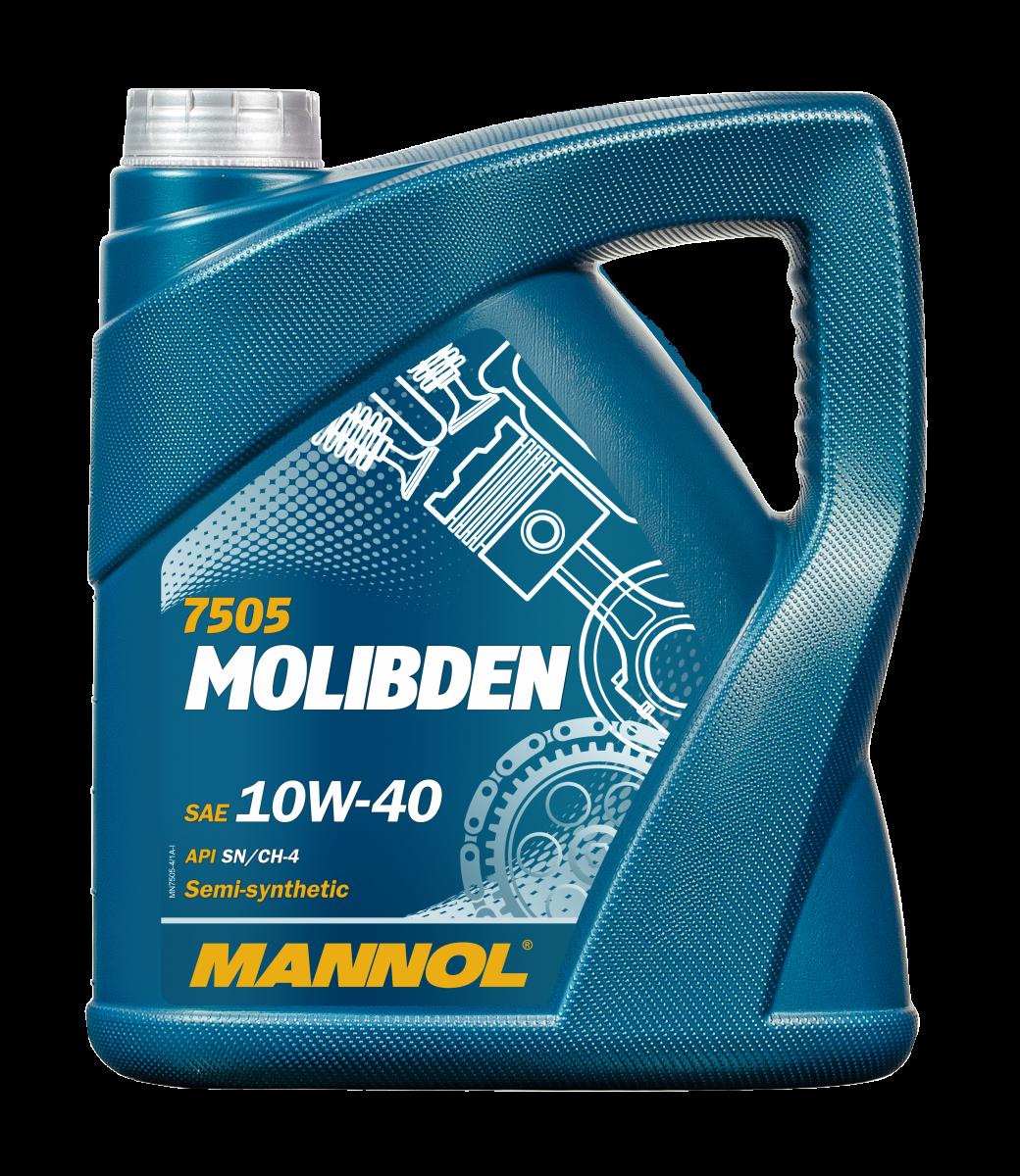 MANNOL MOLIBDEN BENZIN MN7505-4 Motoröl