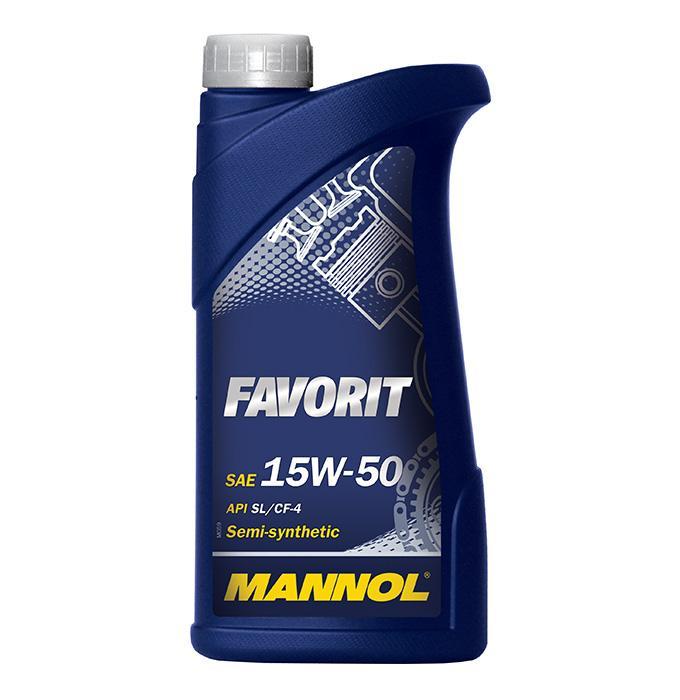 MANNOL FAVORIT MN7510-1 Motorolaj