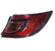 ABAKUS Tail lights MAZDA Right, without lamp base, without bulb, Outer section, LED, W21W