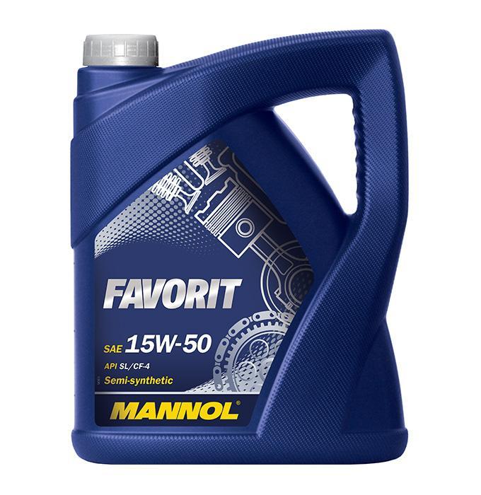 MANNOL FAVORIT MN7510-5 Motorolaj