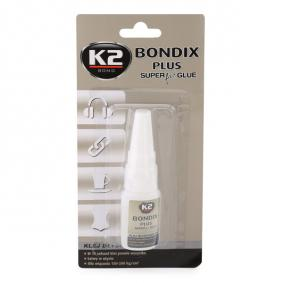 All purpose adhesives K2 B101 for car (Tube, Contents: 10 ml)