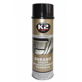 Recubrimiento anticorrosivo K2 L320 para auto (Bote aerosol, Contenido: 500ml)