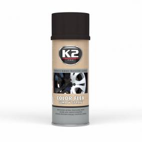 Automotive paints K2 L343CP for car (Spraycan, Black, Contents: 400ml)