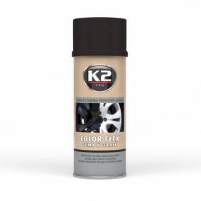 Automotive paints K2 L343CP for car (Spraycan, Black, Contents: 400ml)