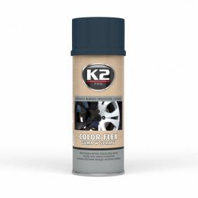 Automotive paints K2 L343CR for car (Spraycan, Carbon, Elastomer, Contents: 400ml)