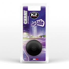 Autoinnenreiniger und Pflegeprodukte K2 V520 für Auto (Blisterpack, Inhalt: 2.7ml)