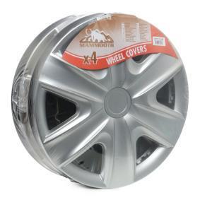 Wheel covers Quantity Unit: Kit, Silver A112203815