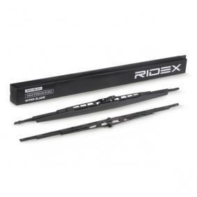 RIDEX Wiper blades Front, 550mm, Bracket wiper blade with spoiler, Standard