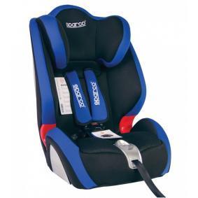 SPARCO F1000K 1000KBL Scaun auto copil Greutatea copilului: 9-36kg, Centuri de siguranţă scaun copil: Centură cu prindere în 3 puncte
