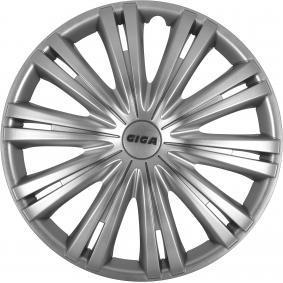 Капаци за колела единица-мярка за количество: комплект, сребърен 13GIGA