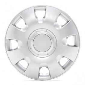 Капаци за колела единица-мярка за количество: комплект, сребърен 13RADIUS