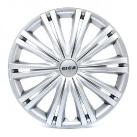 Wheel covers Quantity Unit: Kit, Silver 14GIGA