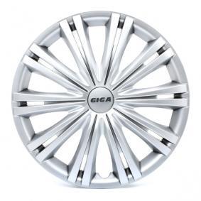 Proteções de roda Unidade de quantidade: Jogo, côr de prata 14GIGA