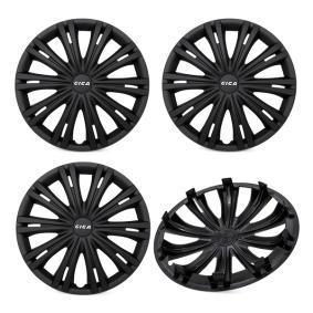 Proteções de roda Unidade de quantidade: Jogo, preto 14GIGABLACK