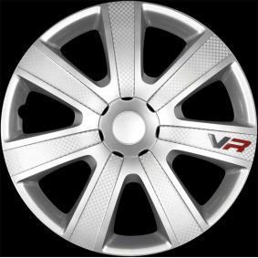 Hjulkapsler Mængdeenhed: sæt, sølv 14VR