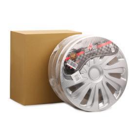 Капаци за колела единица-мярка за количество: комплект, сребърен, карбон 15CALIBERCARBON