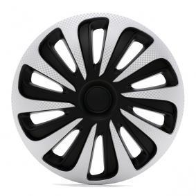 Wheel covers Quantity Unit: Kit, Carbon, Black/Silver 15CALIBERCARBONSB