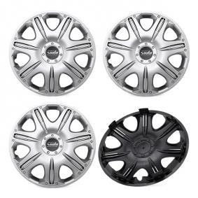 Wheel covers Quantity Unit: Kit, Silver 15OPUS