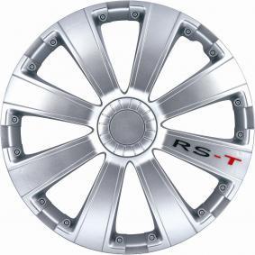 Hjulkapsler Mængdeenhed: sæt, sølv 15RST