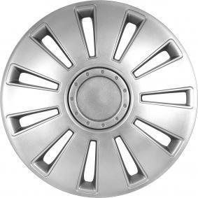 Hjulkapsler Mængdeenhed: sæt, sølv 15SILVERSTONE