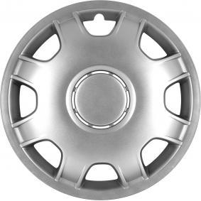 Wheel covers Quantity Unit: Kit, Silver 15SPEED