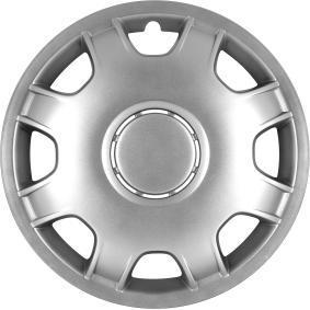 Hjulkapsler Mengdeenhet: Sett, sølv 15SPEED