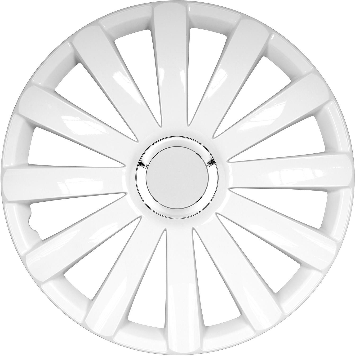 ARGO  15 SPYDER PRO WHITE Hjulkapsler Mængdeenhed: sæt