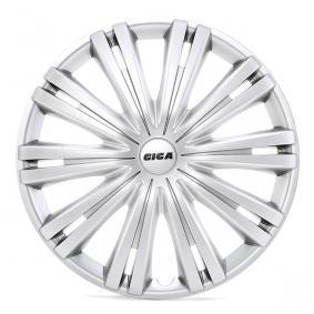 Proteções de roda Unidade de quantidade: Jogo, côr de prata 16GIGA