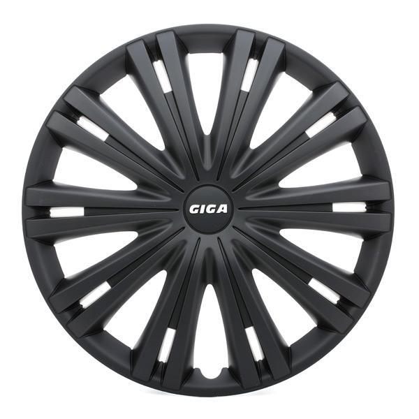 Hjulkapsler 16 GIGA BLACK ARGO 16 GIGA BLACK af original kvalitet