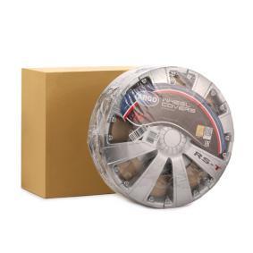Hjulkapsler Mængdeenhed: sæt, sølv 16RST
