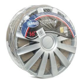 Hjulkapsler Mengdeenhet: Sett, sølv 16SPYDER
