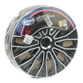 Капаци за колела единица-мярка за количество: комплект, черен/бял 16VOLTECPRO