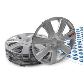 Wheel covers Quantity Unit: Kit, Silver 16VR