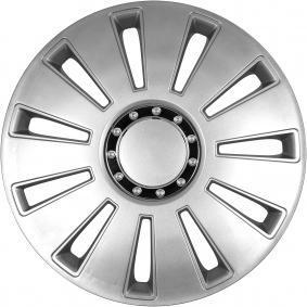 Hjulkapsler Mængdeenhed: sæt, sølv 17SILVERSTONEPRO
