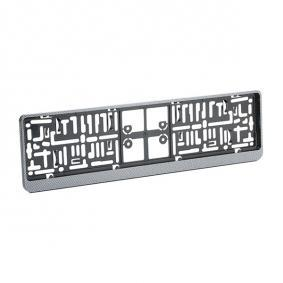 Licence plate holders DACARCARBON