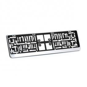 Number plate holder DACARCHROM