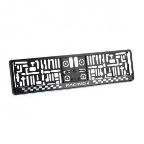 Licence plate holders MONTECARLO3D