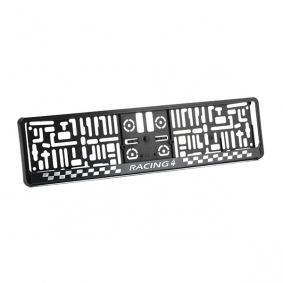 Number plate holder MONTECARLO3D