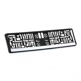Licence plate holders MONTECARLOCHROM