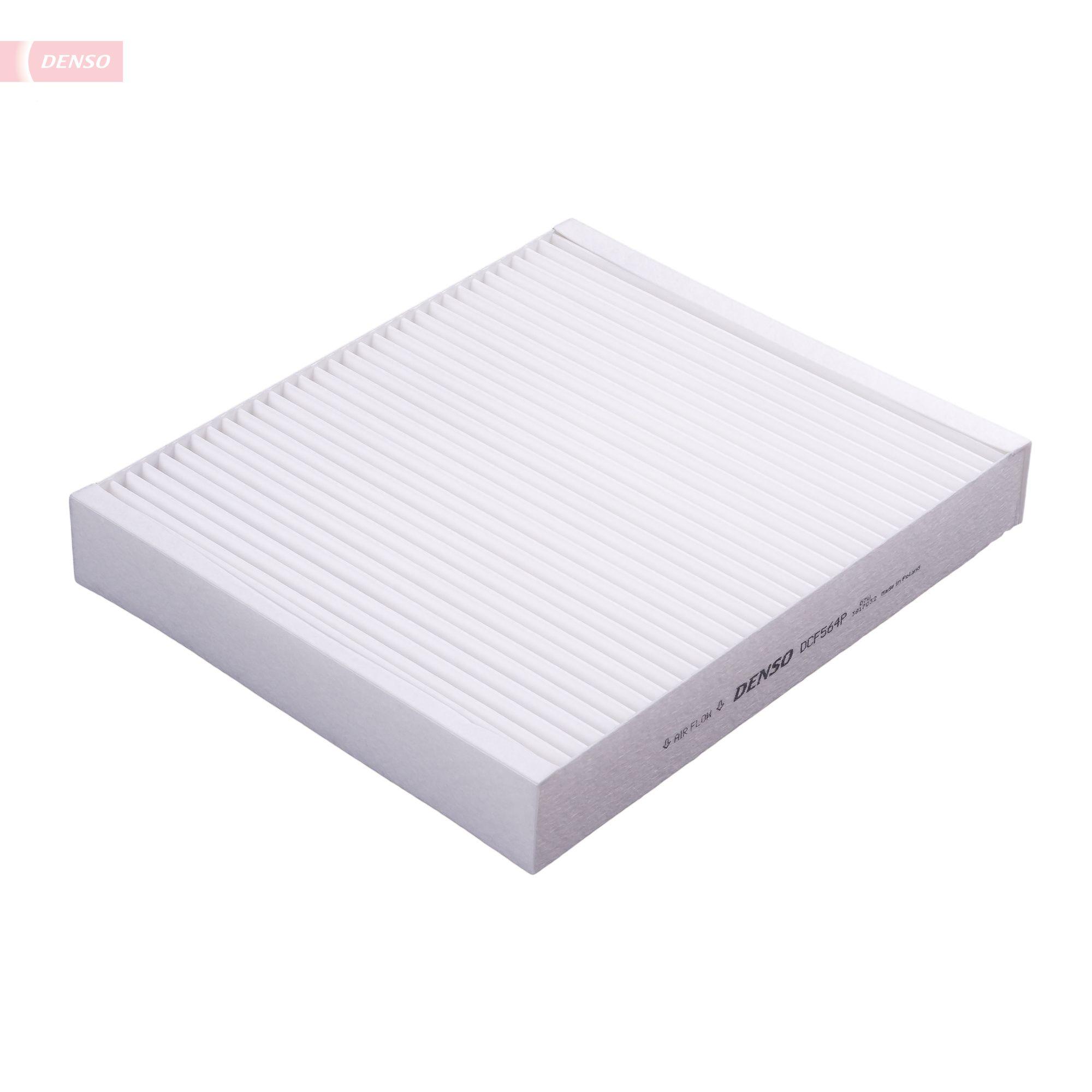 DENSO  DCF564P Filter, Innenraumluft Länge: 240mm, Breite: 204mm, Höhe: 35mm