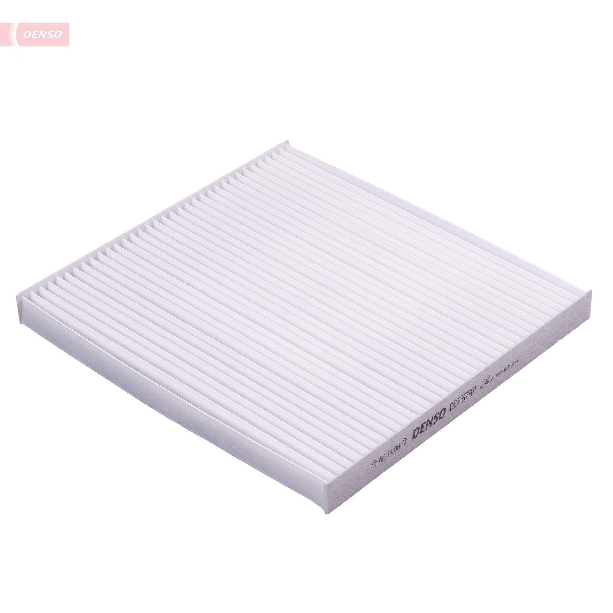 DENSO  DCF574P Filter, Innenraumluft Länge: 210mm, Breite: 226mm, Höhe: 20mm