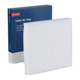 Filter, Innenraumluft Länge: 254mm, Breite: 235mm, Höhe: 30mm mit OEM-Nummer 5Q0-819-644A